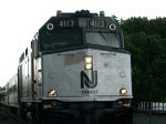 NJ Transit EMD F40PH-2CAT At Dunellen Station